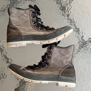 Converse High Top Leather  Suede Men's Sneakers